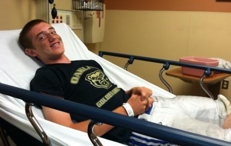 Sports injuries plague athletes