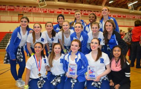 Varsity dance takes fist place at the Oakland County Spirit Championship