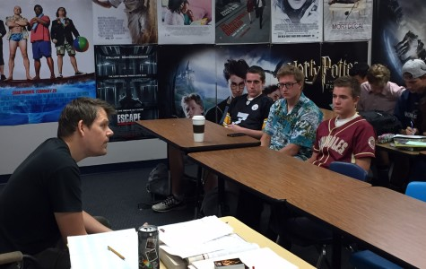 Movie-maker and RHS grad returns to speak to advanced video production classes