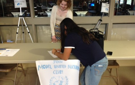 Sophomore hopes to start Model United Nations Club
