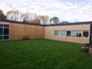 BRIEF: Administration and athletes revitalize courtyard