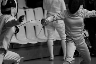 Cracium participates in fencing on a national level