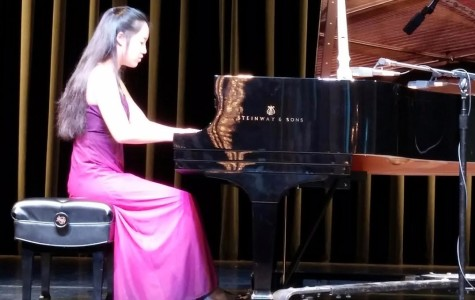 BRIEF: Student shares her talent of playing the piano