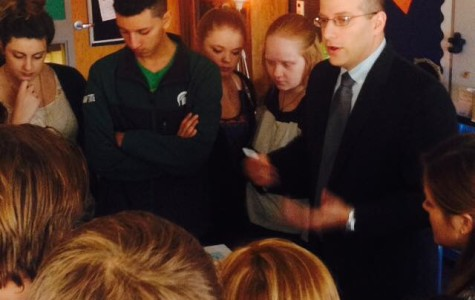 Rabbi speaks to World Religion students about Judaism