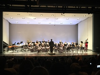 BRIEF: Band students enjoy performing at annual concerts