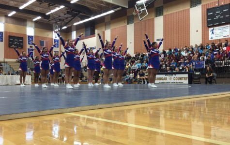 Cheer team wins OAA Red Division, looks toward future