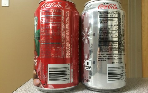 Sugar source differs in Coke and Diet Coke, but both are unhealthy according to experts