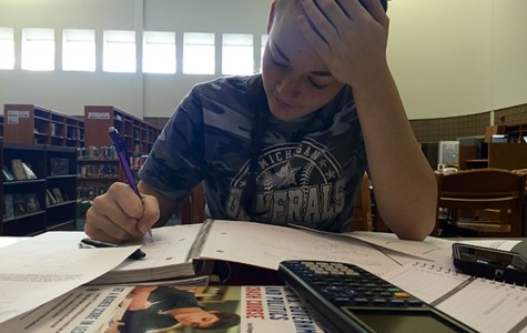 Students cope with stress