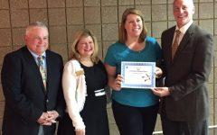 BRIEF: Technology Facilitator Karen Carl wins this year's Pino Award
