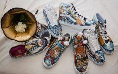 AP Studio Art team earns a top 50 spot in national shoe design contest