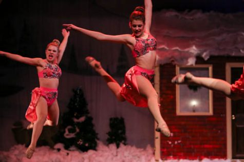 Student prepares to compete dance on a national level