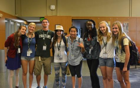 Journalism students attend summer MIPA conference