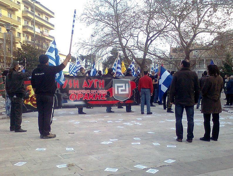 "Grecian Neo-Nazi party called ""The Golden Dawn"" causing an increasing controversy"