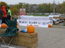 Hunger gets scared away in Rochester