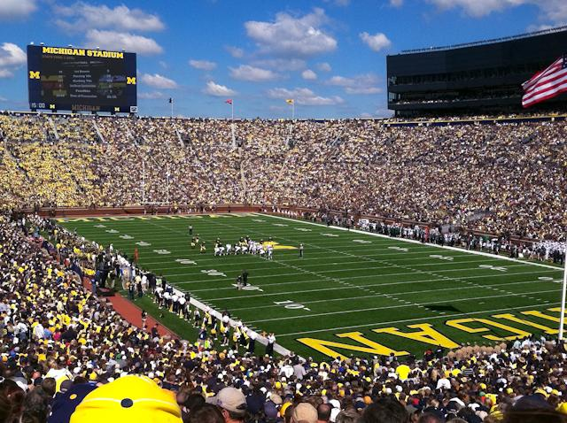 Tough loss at the the Big House