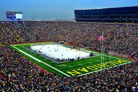 2014 Winter Classic at Michigan Stadium sold out