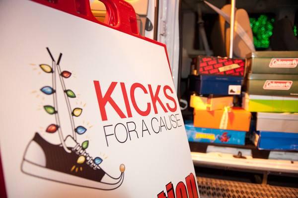Kicks for a Cause kick-starts at the Big Bright Lights Show