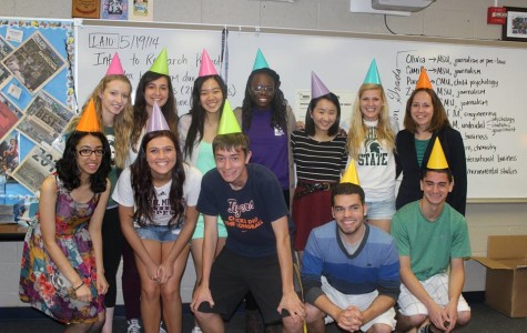 The 2013-14 Talon staff's senior columns