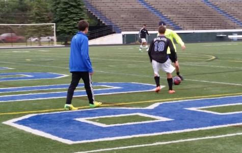 Boys soccer team is working hard, feeling optimistic