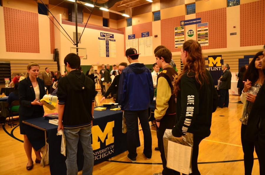 SCHS hosts district-wide college night on Oct. 14