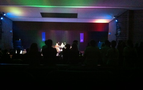 Picture of the Artig concert. photo by Sam Howe.