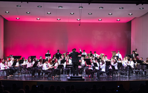 Bands host concert with new director
