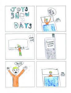 Talon - Snow Day graphic J.Groen - cmyk
