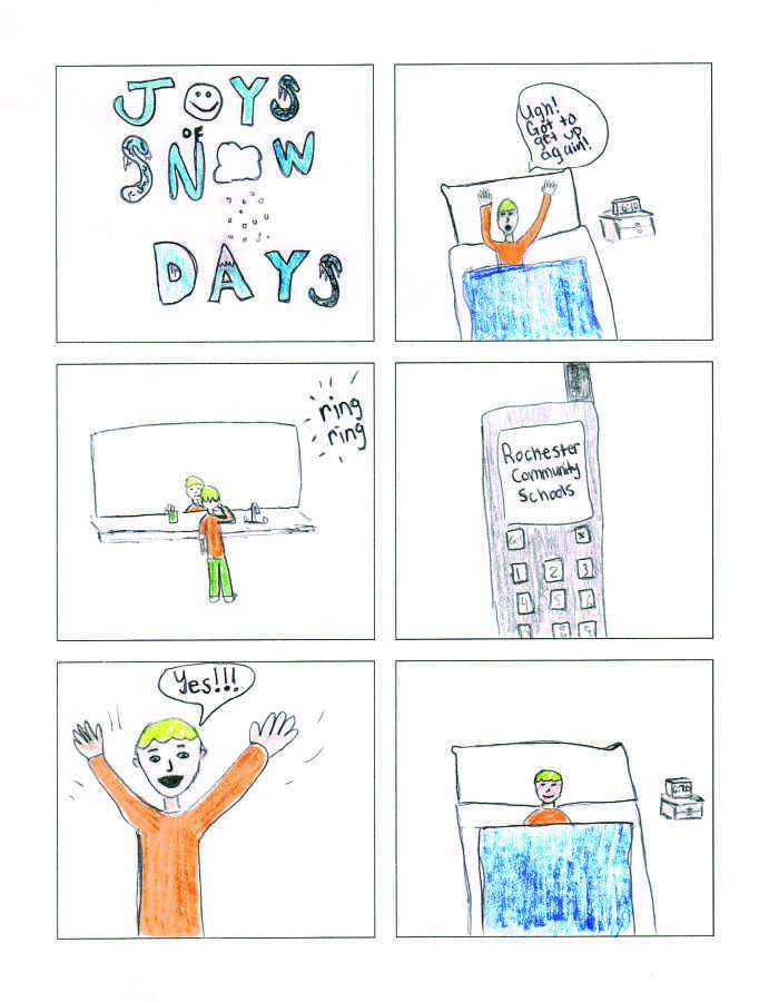 Comic: The joy of snow days