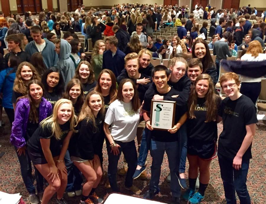 The Talon continues success at 2015 MIPA Spring Conference