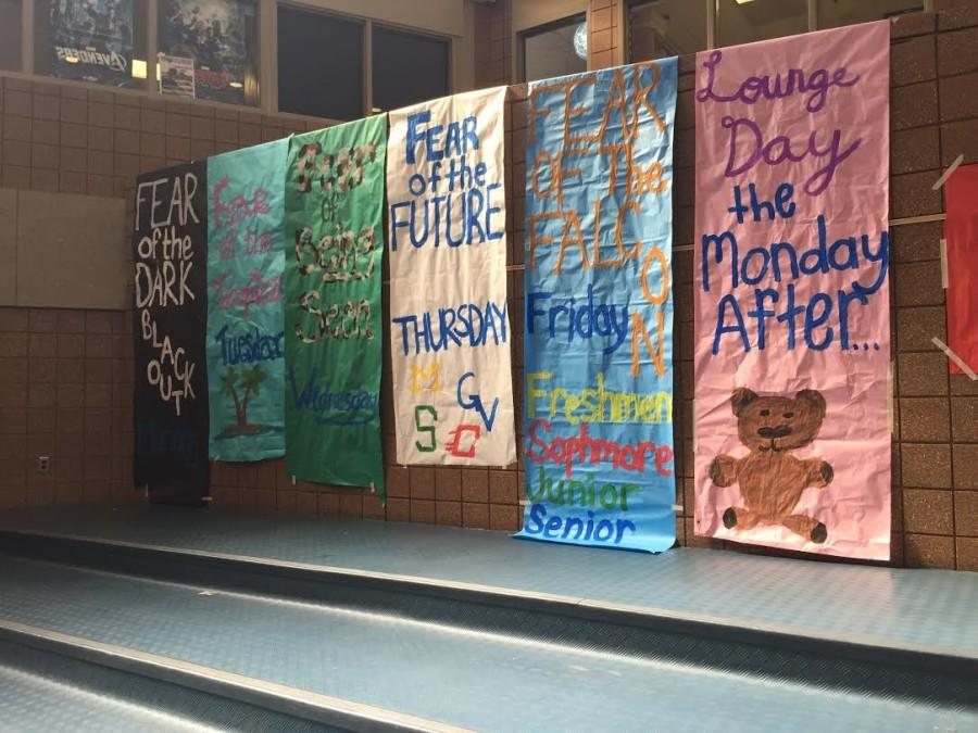 Posters+created+by+Stugo+remind+RHS+students+of+the+spirit+day+themes+for+homecoming+week%2C+starting+on+September+28th.