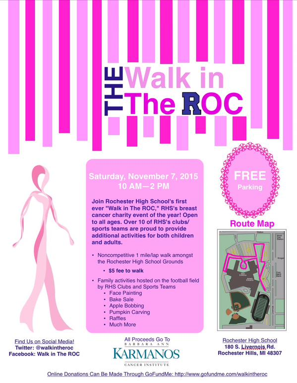 BRIEF%3A+The+Walk+in+the+ROC+aims+to+raise+funds+for+Karmanos+cancer+institute