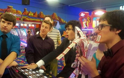 Students play laser tag instead of attending homecoming
