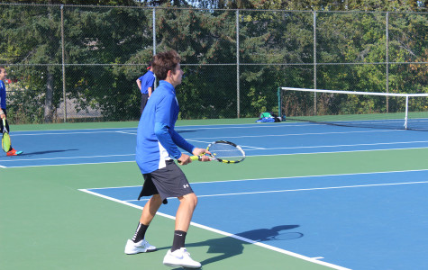Tennis team hopes to place or earn 10 points to advance to States