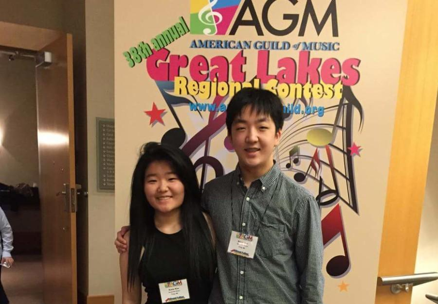 BRIEF: Junior David Kim plays piano competitively