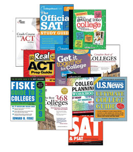 Multiple resources are available that may help with getting comfortable with the idea of  college; many can be found in the RHS counselling office.