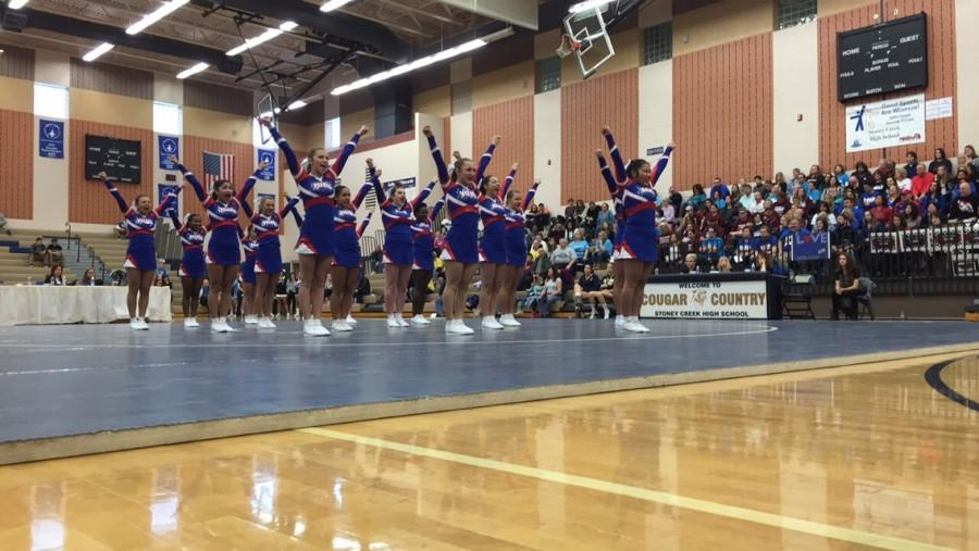 Cheer+team+wins+OAA+Red+Division%2C+looks+toward+future