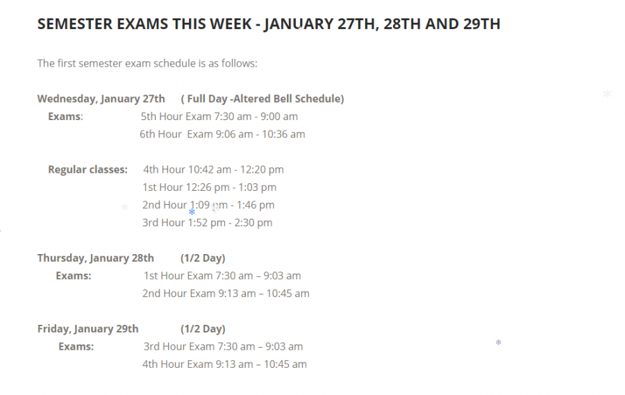 BRIEF%3A+Junior+Mark+Landry+speaks+out+about+the+exam+week+schedule
