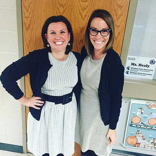RHS teachers job share to complete counseling internship