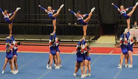 016 Varsity Cheer Team