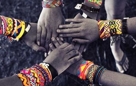 The bracelets that members of Spanish NHS sold helped less fortunate students in Nicaragua. Photo Courtesy of The Pulsera Project