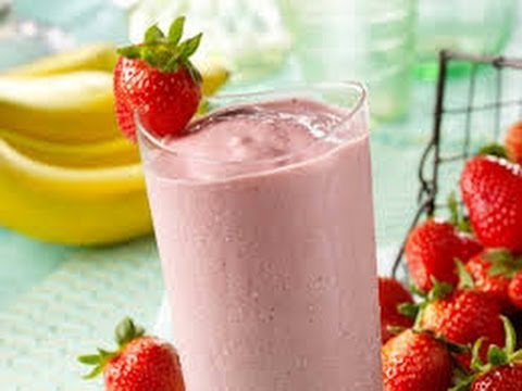 Chocolate Strawberry Banana Smoothie Tutorial