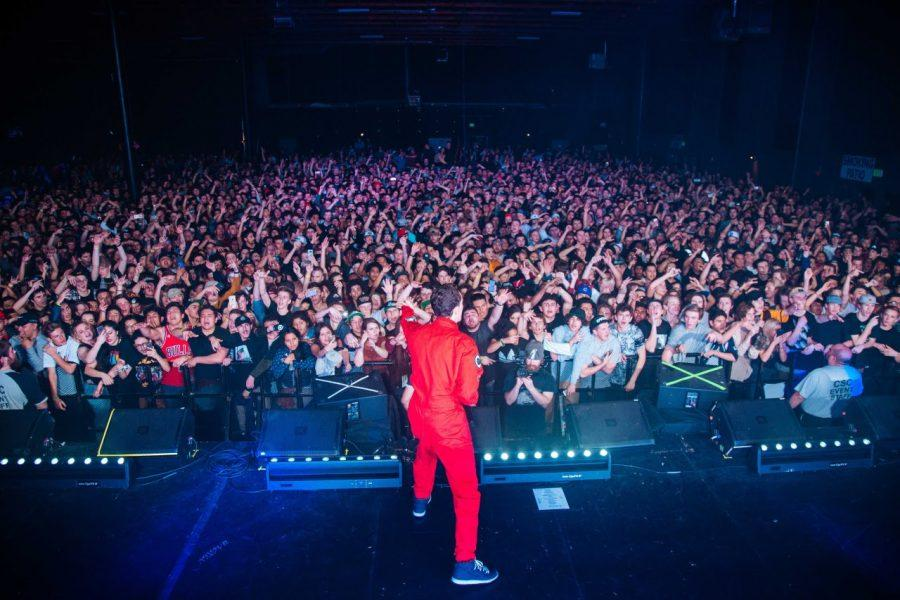 Logic+performs+at+a+concert+in+front+of+a+passionate+crowd.+Photo+courtesy+of+Creative+Commons
