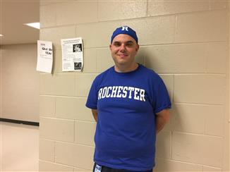 Mr. Byrd visits his alma mater for Homecoming week