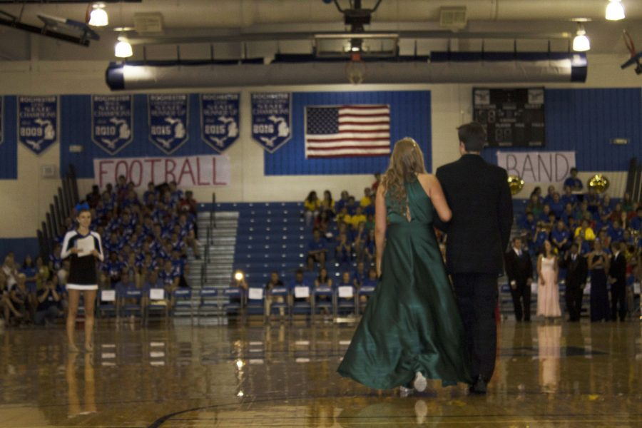 Senior court members Maya Gilgenbach and Michael Williamson