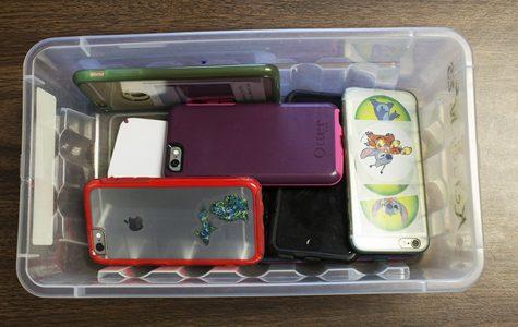 Teachers crack down on phone usage