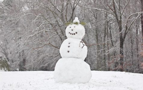 Get back to your childhood roots and build a snowman with a friend over break. Photo courtesy of Creative Commons.