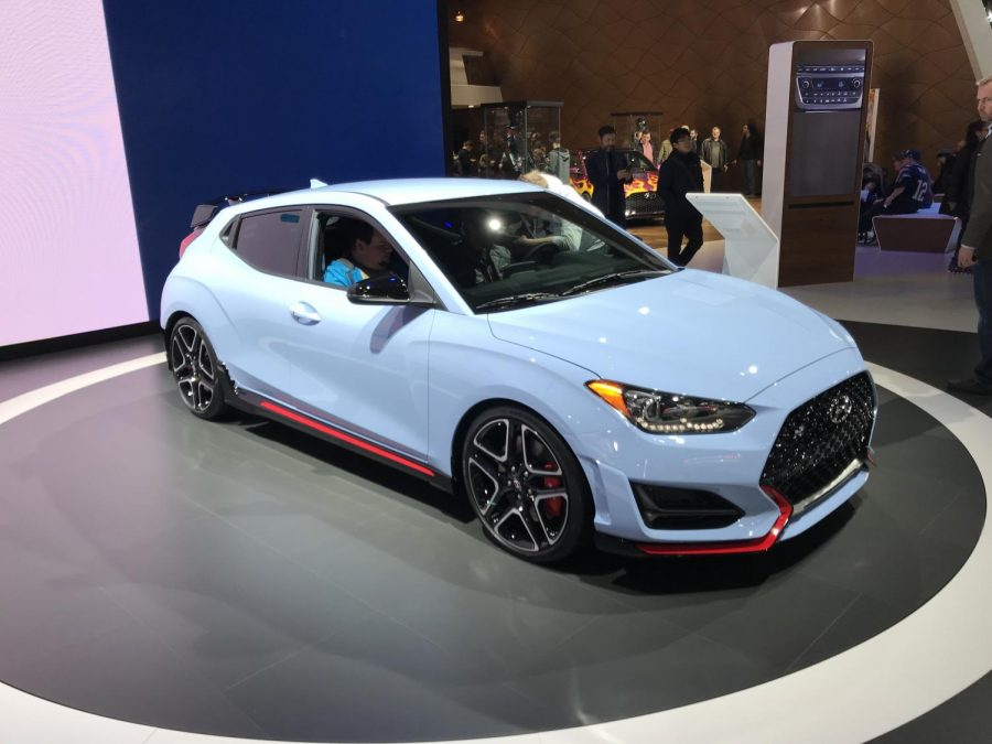 The new 2019 Hyundai Veloster