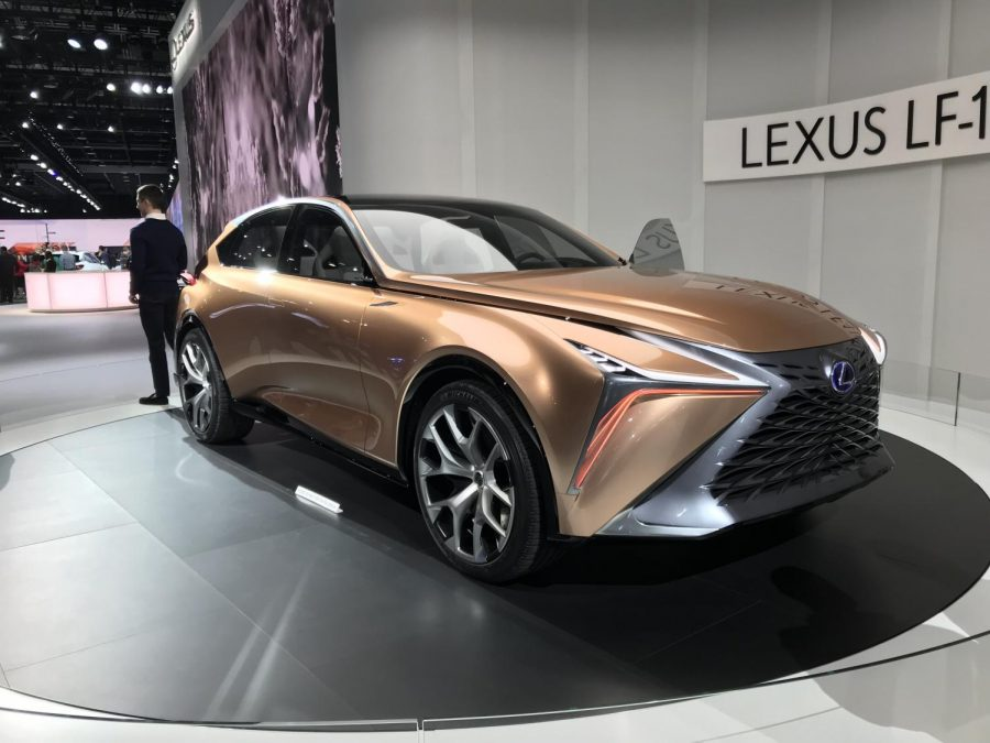 Lexus's concept car, the Lexus LF-1 Limitless