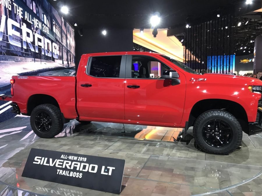 The new 2019 Chevy Silverado LT