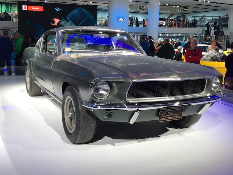 Original Bullitt Mustang.